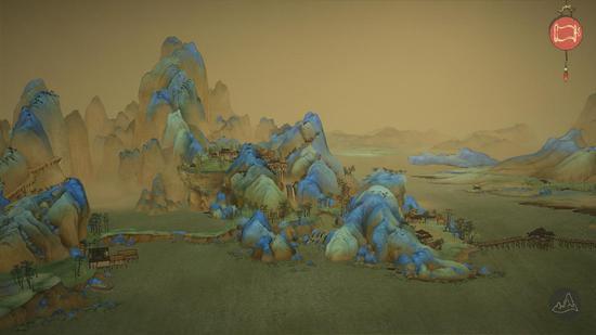 """""""宋朝的壮美山河穿越时空,历史的绢帛化为如今的游戏,仍在眼前,栩栩如"""